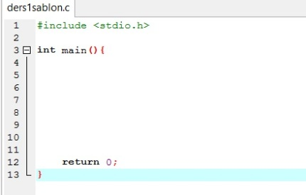 how to write return 0 in c++